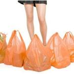 Sollevare i sacchetti della spesa