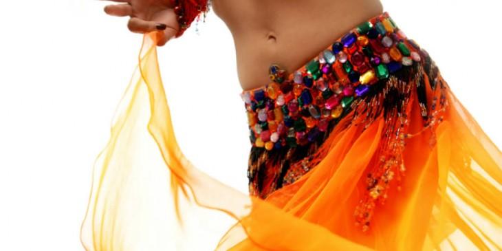 discreto árabe baile
