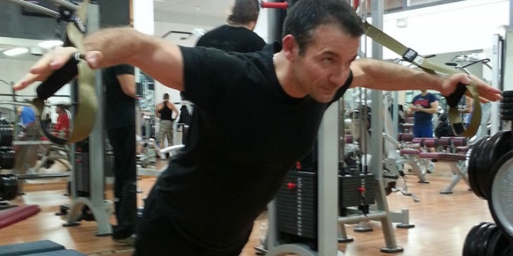 Personal trainer Andrea Frisina