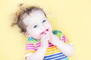 Dentizione dei bambini