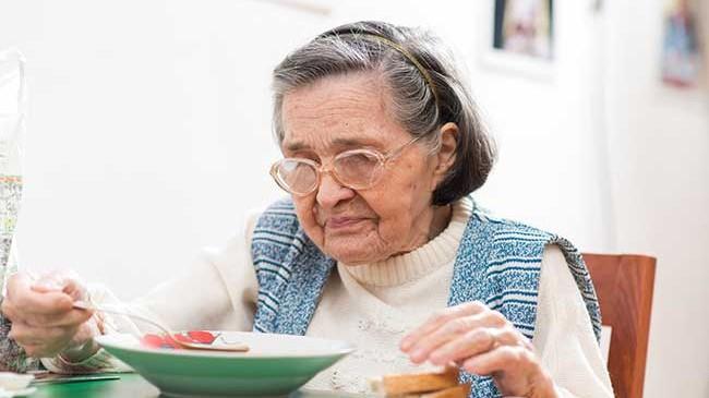 Salute degli anziani: alimentazione sbagliata