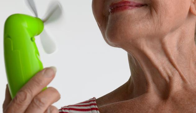 Vampate da menopausa