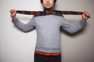 Acne da sciarpa