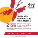 Giornata Nazionale contro Leucemie, linfomi e mieloma 2016