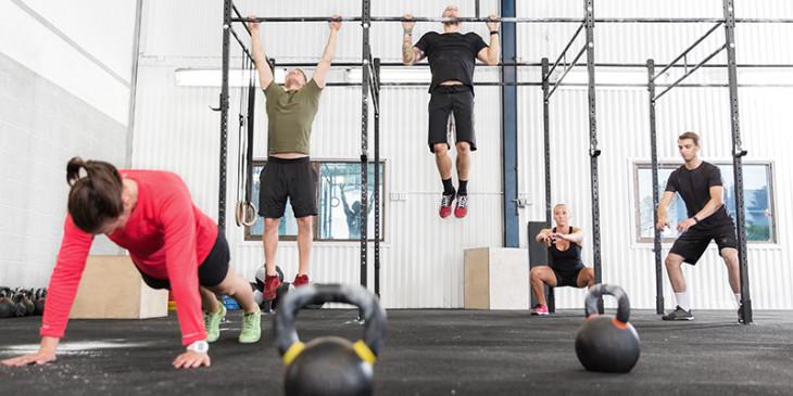 Crossfit, allenamento intensivo