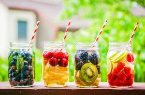 Acqua aromatizzata, bevande detox