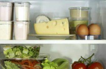 Conservare il cibo in frigorifero